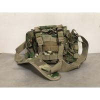 Tas selempang/waist bag army multicam cordura/tas army kanvas