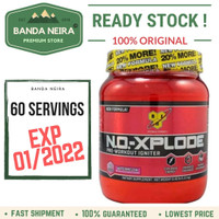 BSN NO XPLODE Pre Workout - GRAPE, 60 SERVINGS