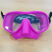 OCEANIC Shadow Pink Mask Neo strap