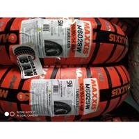 Paket Ban maxxis M6029W 90 80 14 dan 100 80 14 Tubles Motor Matic beat