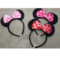 HB44 bando anak perempuan model telinga minnie mouse pita balita toddl