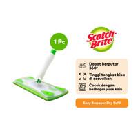 Scotch-Brite 3M Easy Sweeper Alat Lap Pel Sapu Serbaguna Bersih