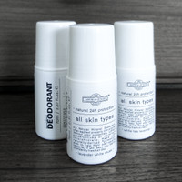 Natural Deodorant Roll On - Non - staining - no paraben - 70ml