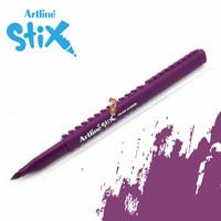 Artline Stix Brush Marker - Magenta / Brush Pen