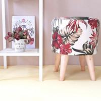 stool / stool bulat / sofa bulat / Ottoman / bangku bulat