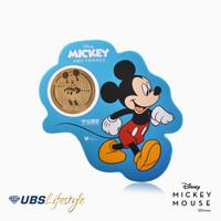 UBS ANGPAO 24K DISNEY MICKEY MOUSE 0.2 GR