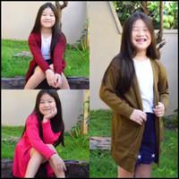cardigan anak perempuan wanita baju rajut wanita panjang