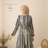 Gamis Homedress Rayon Motif Batik