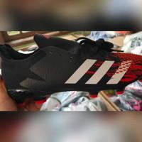 Sepatu Bola Adidas Predator 20.2 Black Red FG