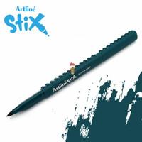 Artline Stix Brush Marker - Dark Green / Brush Pen