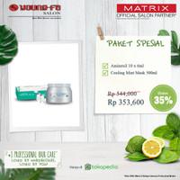 Biolage Matrix Paket Scalppure cooling mint