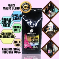 Awi Coffee Kopi Paris Magic Blend for Cafe 1kg|Roasted Beans|Specialty