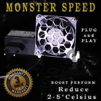 MONSTER Speed fan aquarium / kipas dewa penurun suhu aquascape high