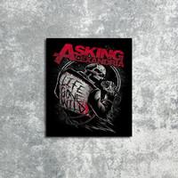 Poster Hiasan Dinding Asking Alexandria Band