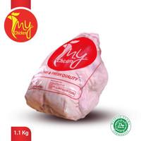 My Chicken Ayam Karkas 1.1 Plastik Polos (Tanpa Logo) [ 1.1 kg ]