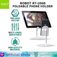 Robot RT-US05 Table Phone Tab Holder Stand Aluminium Alloy Foldable
