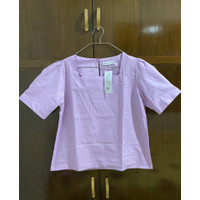 Lilac top/lilac blouse/atasan lilac beatrice clothing
