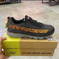 Sepatu Running SKECHERS GO RUN FOCUS ULTRA GO 220007BKOR ORIGINAL