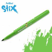 Artline Stix Brush Marker - Yellow Green / Brush Pen