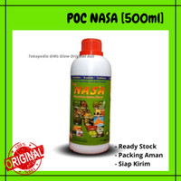 POC Nasa - Pupuk Organik Cair Nasa - Pupuk Cair - Original Nasa 500cc