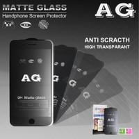 MATTE GLASS / ANTI MINYAK NANVAN 5D TEMPERED GLASS IPHONE X