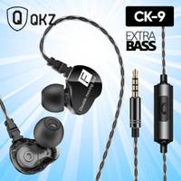 QKZ CK9 Headset Earphone Sport In-Ear Stereo Super Bass With Mic