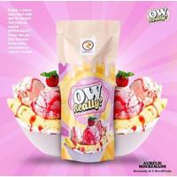 Liquid Owreally Ow Really Banana Strawberry Ice Cream 60ml - 3mg