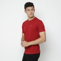 Kale Kaos Polos Cotton Combed 30S Lengan Pendek - Arion RED EDITION