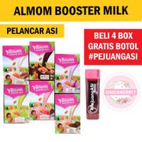 ALMOM Booster Asi Milk Powder Pelancar Asi Yummys Bubuk Susu Almond