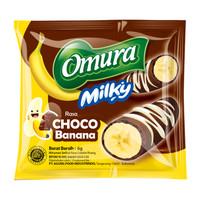 Omura Milky Powder Drink -Bubuk Minuman Rasa Choco Banana / Cokelat