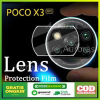 Tempered Glass Camera Anti Gores Lensa kamera For Xiaomi Poco X3 NFC