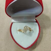 cincin ketupat mata putih 1 gram emas muda