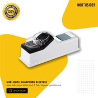 PENGASAH PISAU - GUNTING ELEKTRIK KABEL USB KNIFE SHARPENER ELECTRIC