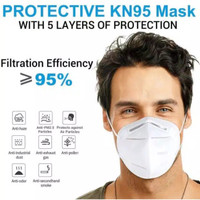 Masker KN95 5ply Disposable 5 ply KN 95 Protective Face Mask N95 N 95