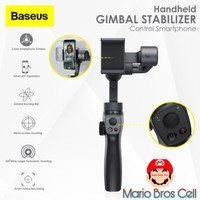 Baseus 3-Axis Handheld Gimbal Stabilizer Bluetooth Tripod Selfie Stick