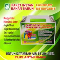 Paket Bahan Sabun Instan Laundry Detergen BioDay 15L