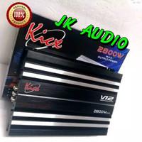 POWER AMPLIFIER AUDIO MOBIL 4 CHANNEL KICK HP 470.4 POWER 4 CHANNEL