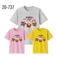 Kaos Imlek Bayi Anak Remaja Dewasa Oversize Family/Baju Kaos Sincia 10