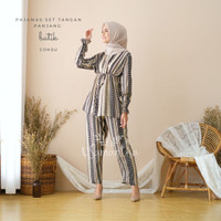 Pajamas Set Celana Muslim BUSUI Friendly Batik