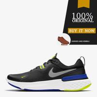 CW1777-011 Sepatu Running Original Nike React Miler - Black/Racer Blue