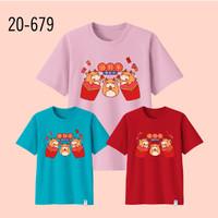 Kaos Imlek Bayi Anak Remaja Dewasa Oversize Family/Baju Kaos Sincia 18