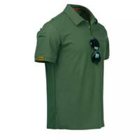 Baju Kaos Polo Shirt import Tactical Kaos Polo Velcro Slim Outdoor