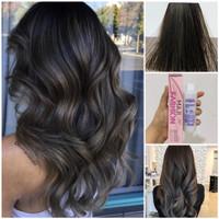 Loreal Maji Fashion 6.1 Mineral Blue Dark Ash Brown Hair Dye Cat Rambu