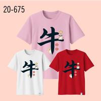 Kaos Imlek Bayi Anak Remaja Dewasa Oversize Family/Baju Kaos Sincia 19