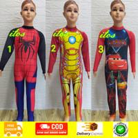 Baju Renang Panjang Karakter Anak TK - SD Kelas 1