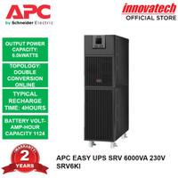 APC SRV6KI SRV6000 6000VA 6000WATT EASY UPS ONLINE