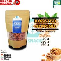 Kacang Almond Almon Panggang Roasted Almond 50gr 100gr 200gr 250gr