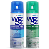 Wiz 24 Disinfectant Aerosol Surface&Air 300ml Disinfektan Spray Wiz24