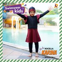 Swimwear Karina by Rocella | Baju Renang Anak | Setelan Muslimah Anak