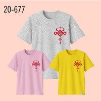 Kaos Imlek Bayi Anak Remaja Dewasa Oversize Family/Baju Kaos Sincia 8